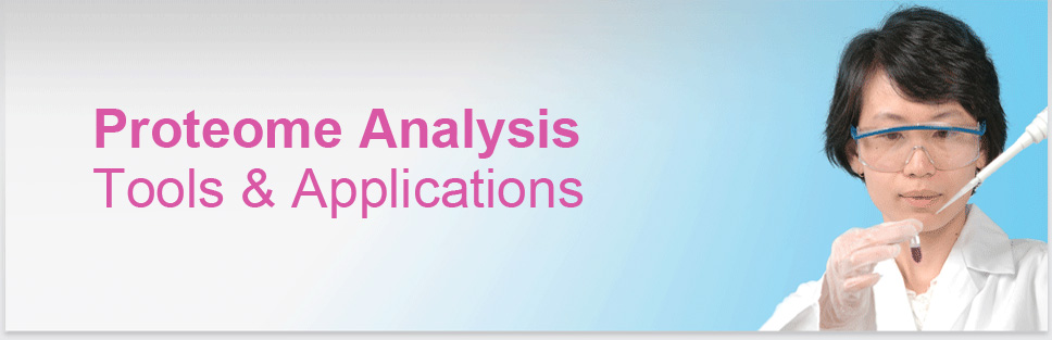Image Header Protein Services: Proteome Analysis Tools & Applications