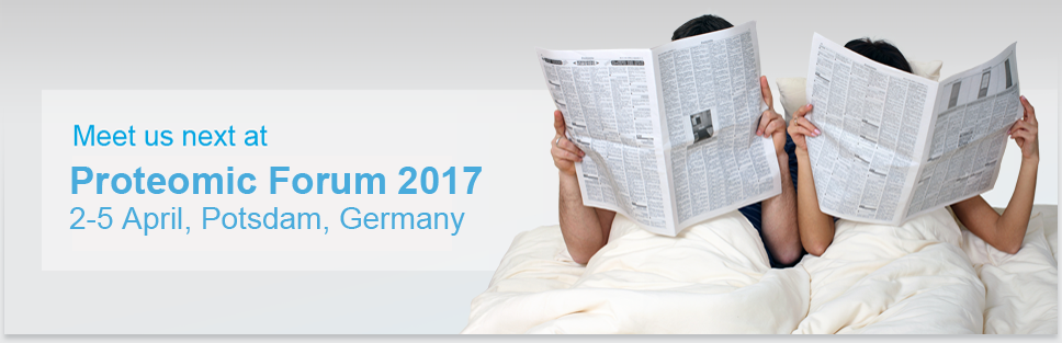 Header Proteomic Forum 2017: Annual meeting of the German Society for Proteome Research