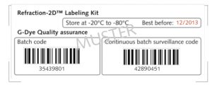 Refraction-2D™ Labeling Kit - Quality Label