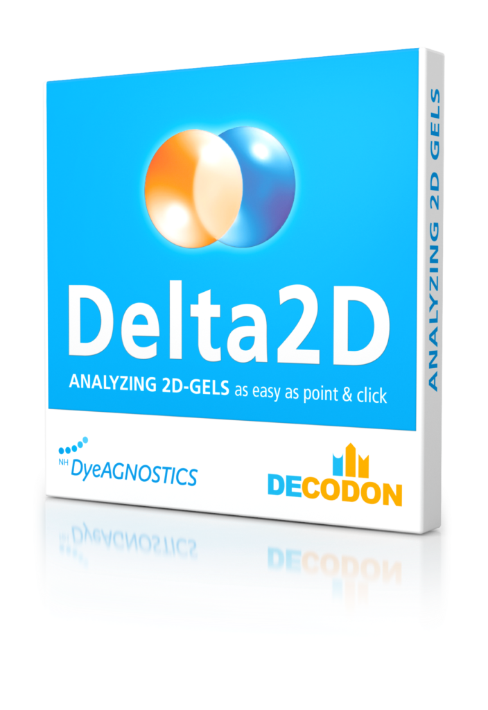 Image of Delta2D Analysis Software box