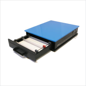 Image ORCA Gel Electrophoresis unit: large sample high resolution SDS-PAGE, native PAGE, IEF and 2D gel electrophoresis