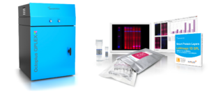 Image of the Octoplus QPLEX, the Fluorescence and Chemiluminescence Power Imager, SPL Red Kit for Western Blot Normalization, SPL 1D Gel and Western Blot Analysis Software, Reagents for Immunodetection