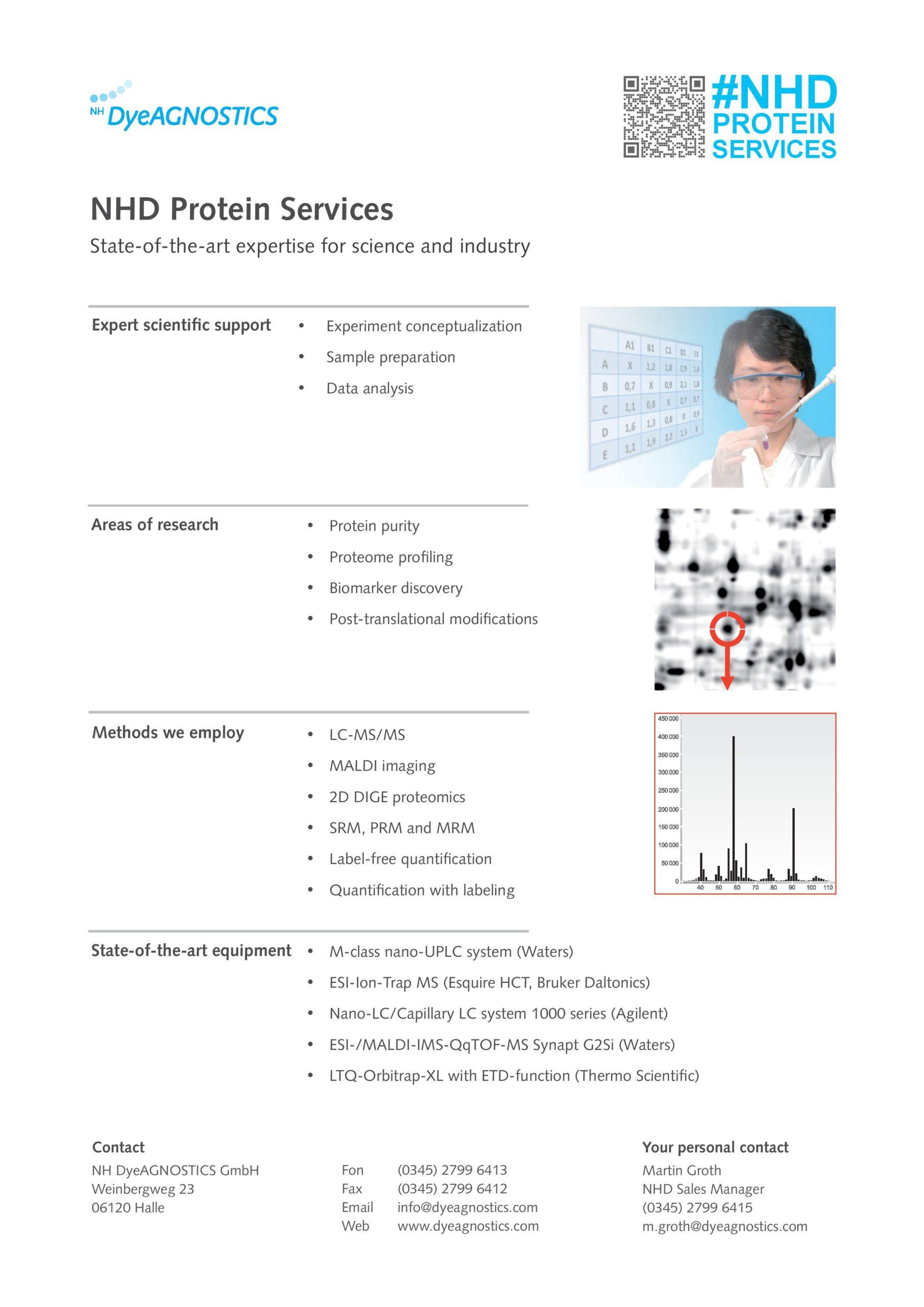 Bild Maßgeschneiderte Proteomics Dienstleitungen